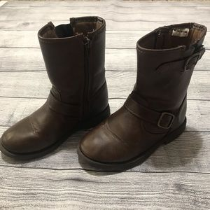 Carter's Brown Riding Boots Girls Size 13